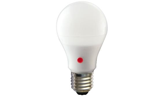 Plafoniera Con Sensore Crepuscolare : Lampadina led goccia e w con sensore crepuscolare luce