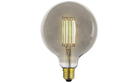 Lampade Globo A Basso Consumo : Lampadina vintage led globo deco line grey e w luce calda